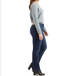 Levi's 505 straight leg jean for women